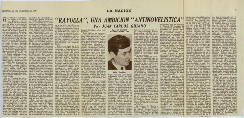 """""""Rayuela"""", una ambición """"antinovelística"""""""