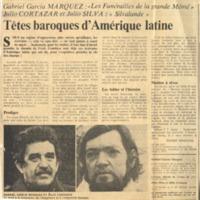 Têtes baroques d'Amérique latine